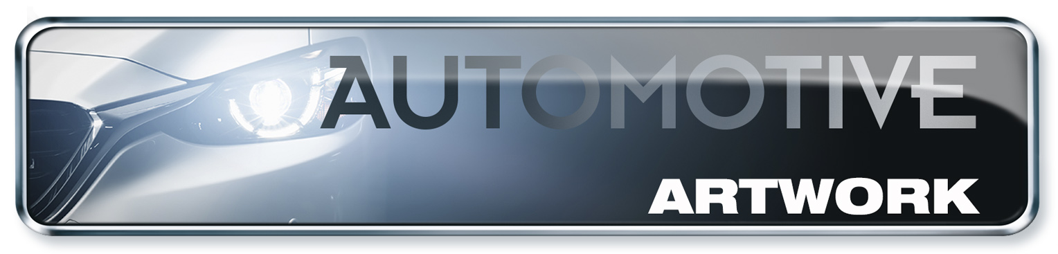 Visual Service Automotiv Button