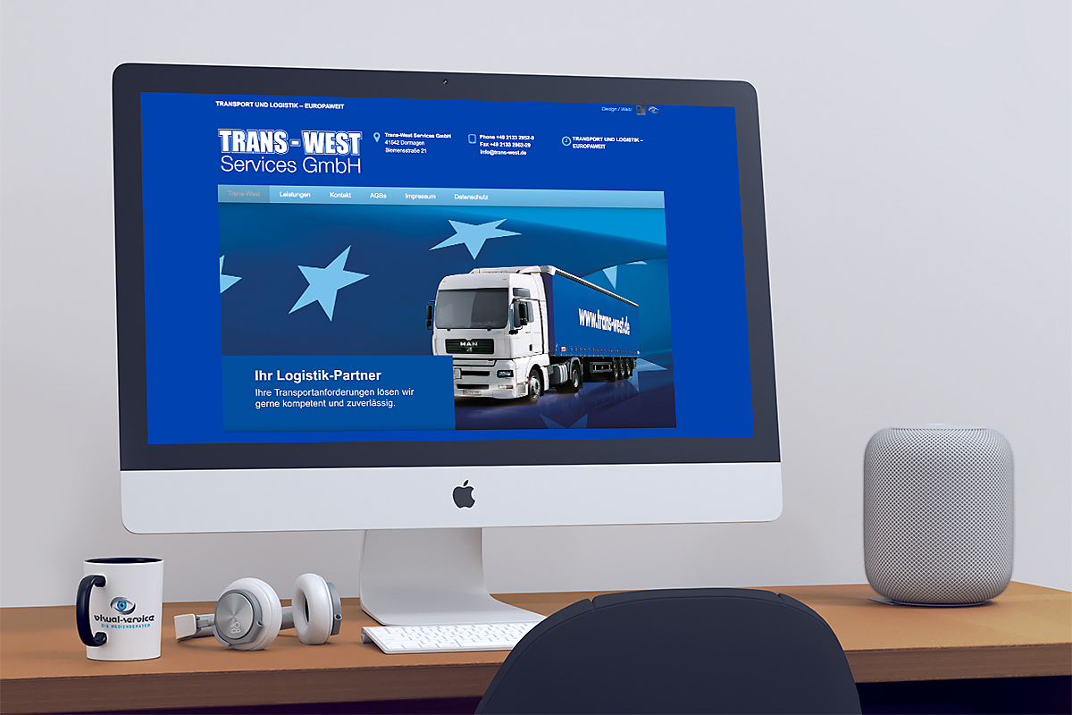 02 Trans West.de designed by Visual Service