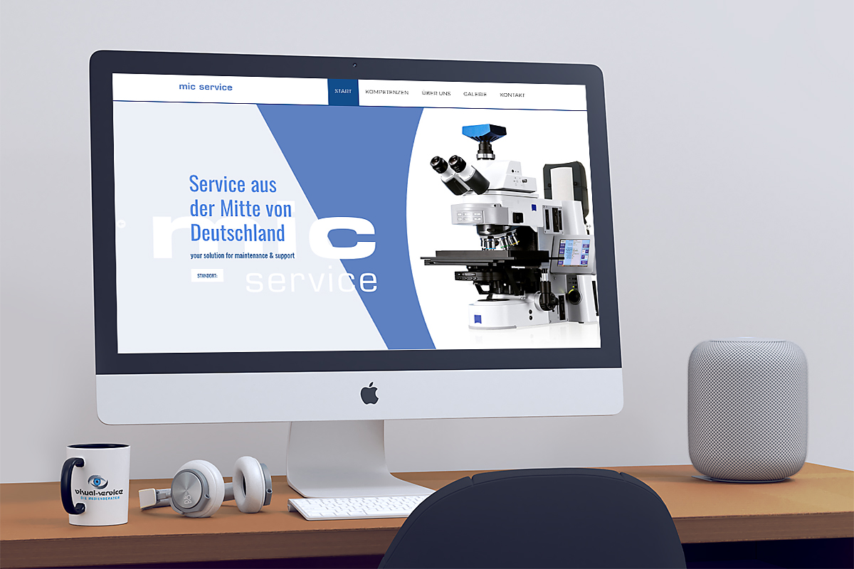 11 mic Service.online designed by Visual Service